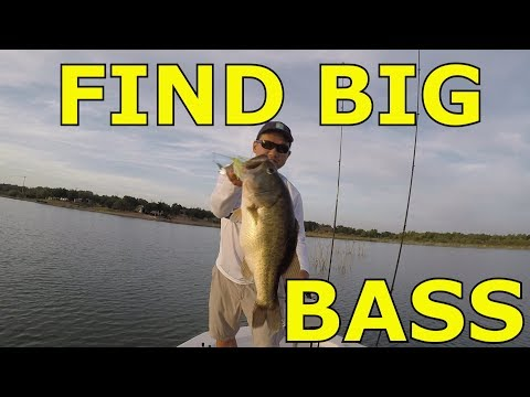 Using Navionics And Google Earth To Locate Big Bass, Lake Buchanan July 2018