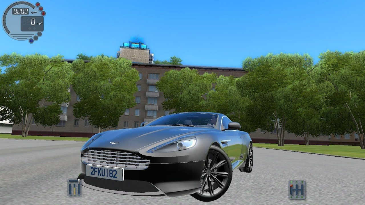 City Car Driving 1.5.0 ASTON MARTIN VIRAGE [G27]