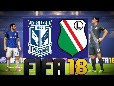LECH POZNAŃ vs LEGIA WARSZAWA - FIFA 18
