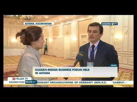 Kazakh Indian business forum held in Astana