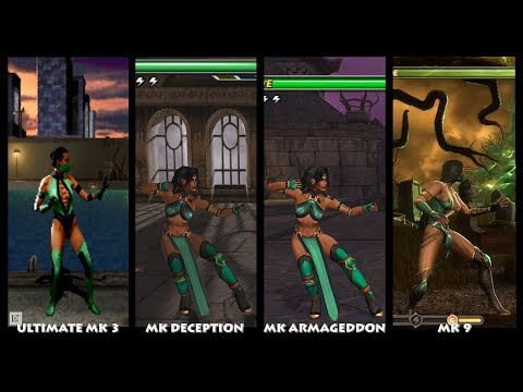 Mortal Kombat JADE Graphic Evolution 1993-2011 | ARCADE XBOX PC | PC ULTRA thumbnail