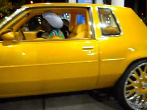 "Oldsmobile Cutlass on 26"" Asantis"