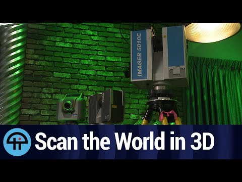 How to Scan the World in 3D