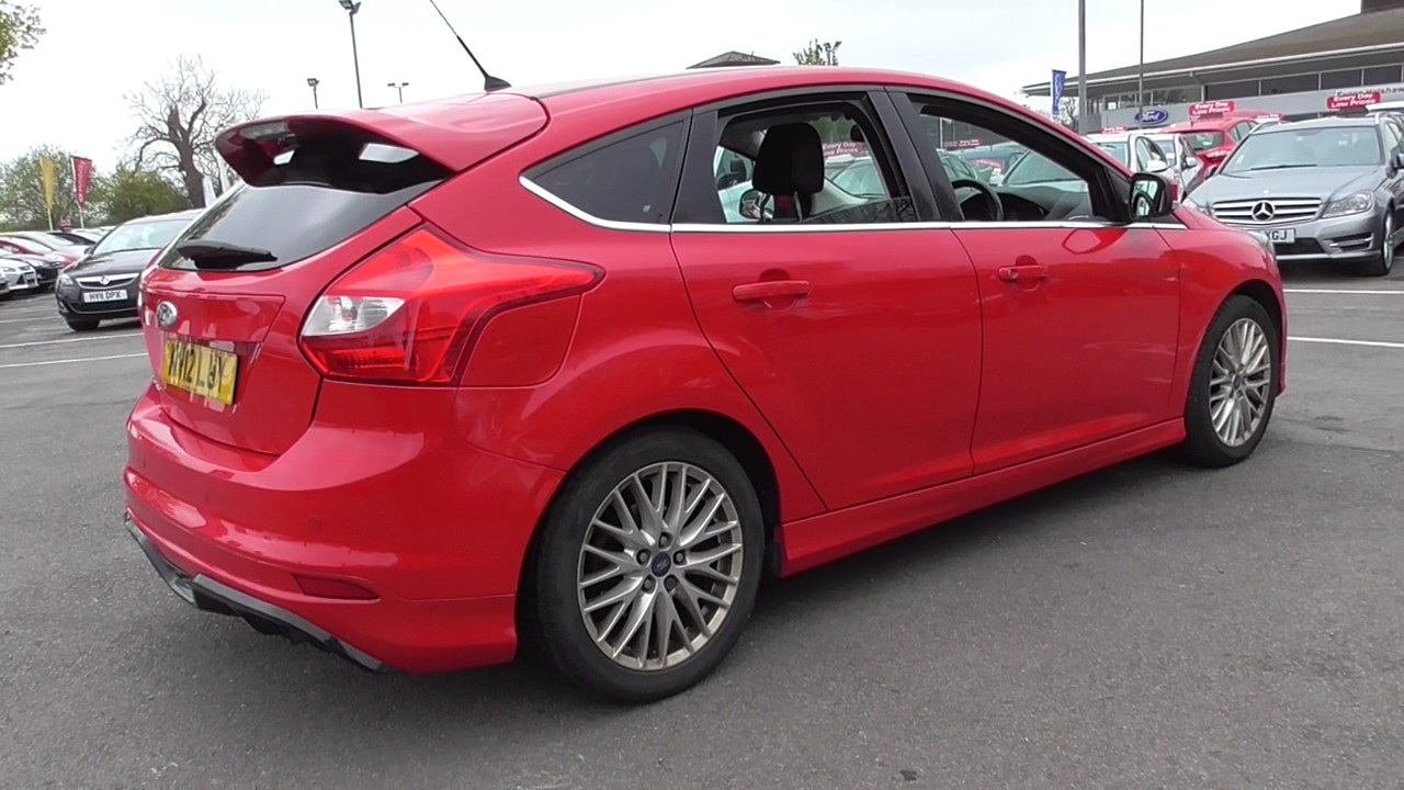 ford focus 1.6 182 ecoboost zetec s 5dr u34819 - youtube