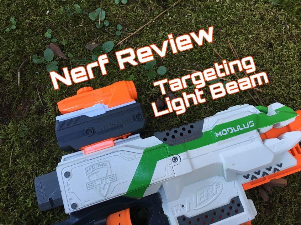 Honest Review Nerf Targeting Light Beam Youtube