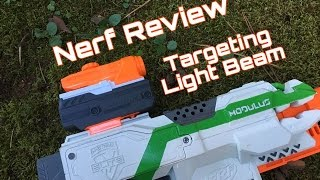 honest review nerf targeting light beam
