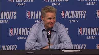 Steve Kerr Postgame Interview - Game 4 | Warriors vs Rockets | 2019 NBA Playoffs