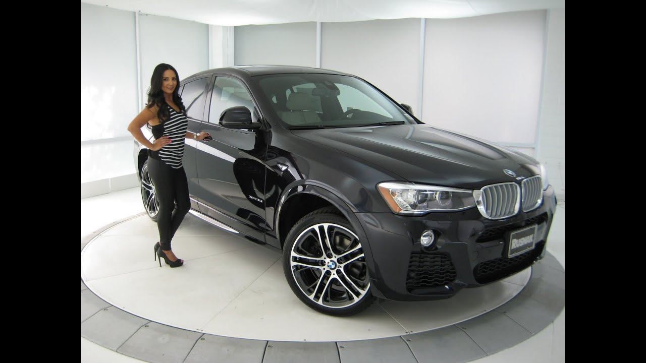 New Bmw X4 35i M Sport Package 20 Quot M Wheels Carbon Black Bmw Review Youtube