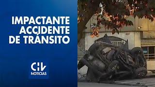 Conductor murió tras choque en Av. Matta: Chocó contra un árbol, un grifo, un poste y un restorán