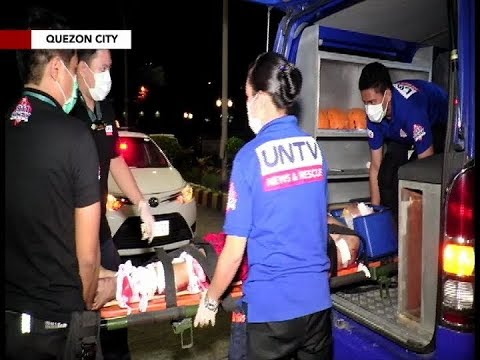 Lalaking biktima ng motorcycle accident sa Quezon City, tinulungan ng UNTV News & Rescue