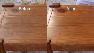 A QUICK Alternative - How To Apply Polyurethane or Varnish Clear Finishes Alternative