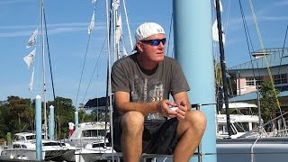 SE1 EP5. Fountaine Pajot Catamaran Blue Water Refit - Part 2. Sailing Trio Travels