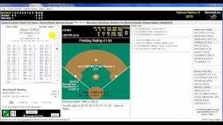 National Pastime III Computerized Baseball Game Part I