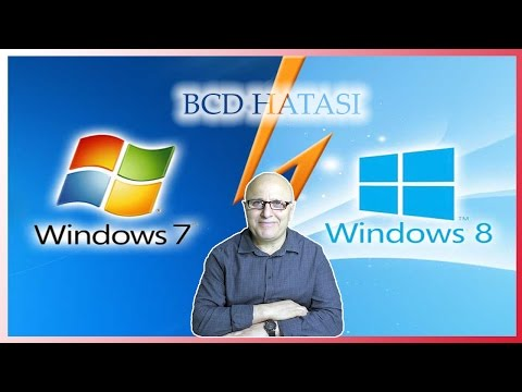 Windows 7'de File Boot  BCD Hatasının Ç Boot
