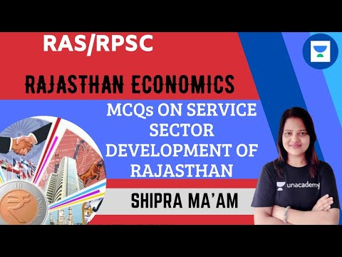 MCQs On Service Sector Development Of Rajasthan | Rajasthan Economics | RPSC/RAS 2020/2021