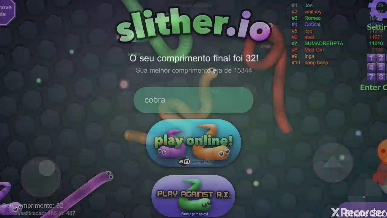 Slither.io:a cobra