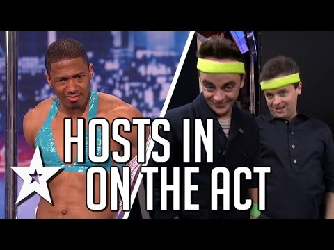 Nick Cannon, Ant & Dec In On The Act | America's Got Talent & Britain's Got Talent
