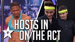 Video Nick Cannon, Ant & Dec In On The Act | America's Got Talent & Britain's Got Talent download MP3, 3GP, MP4, WEBM, AVI, FLV April 2018