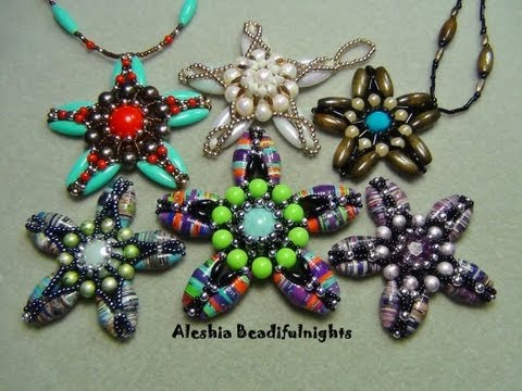 Paper Bead Starfish Pendant Or Ornament Tutorial