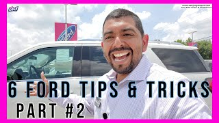 6 Ford tips and tricks you probably don't know- PART #2  🔥🔥🔥