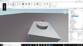 Roblox Studio - How to make a hole using negate and union