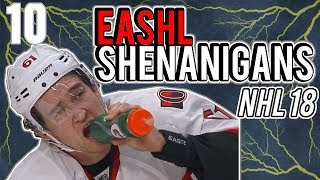 """Where has BRIANSTORMED been?!"" + EASHL Shenanigans Episode 10"