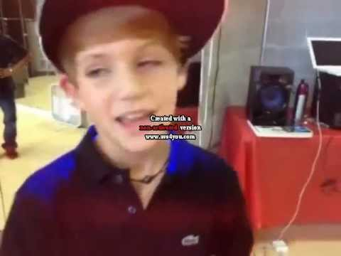Behind the scenes of That Girl is mine- MattyBRaps