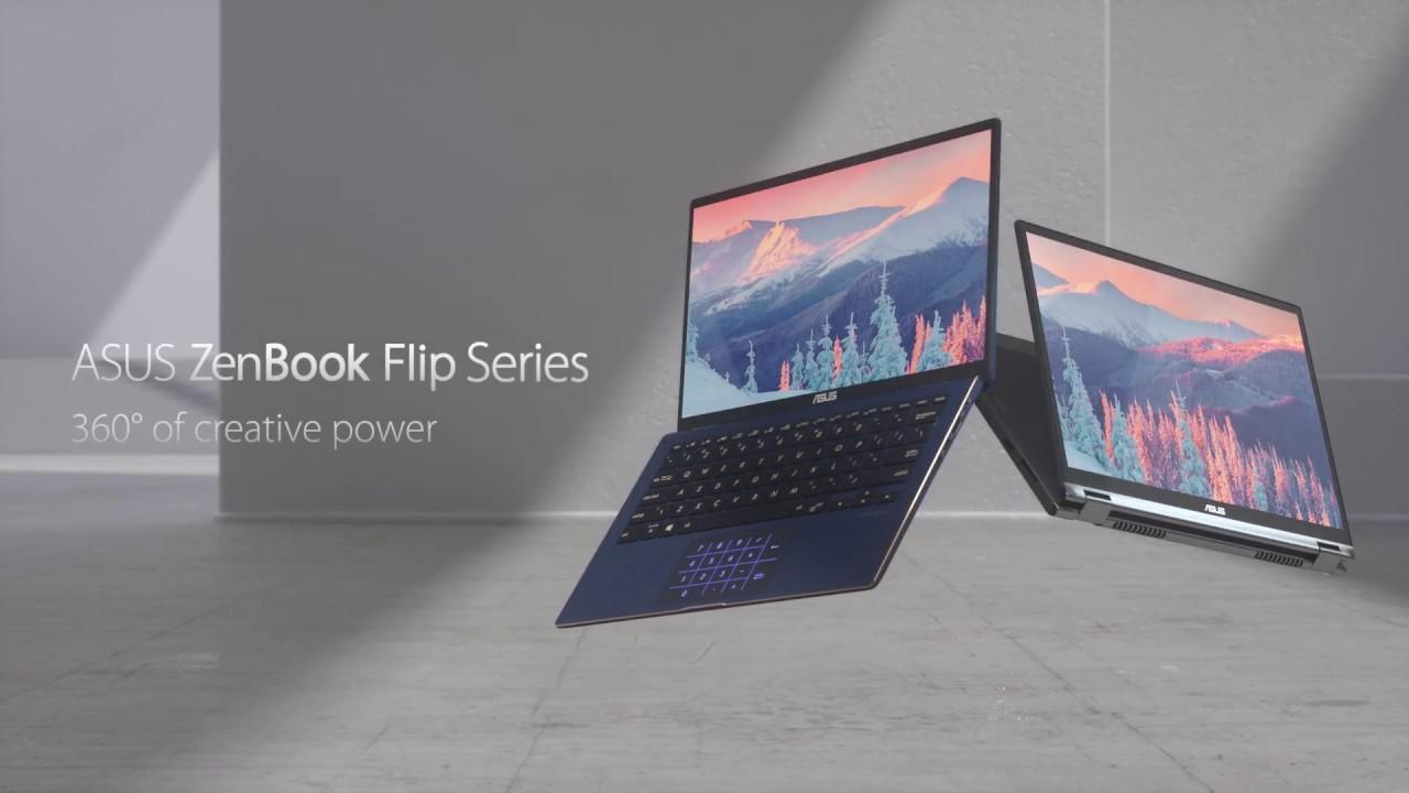 ASUS ZenBook Flip Series-360° of creative power | ASUS - YouTube