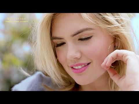 Kate Upton charming model - Without you (Remix) 4K UHD