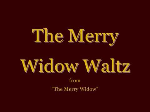 The Merry Widow Waltz - 'I Love You So' Karaoke