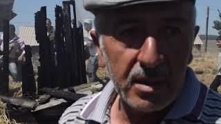 Сгорело 270 тюк сена в селе Кулалис