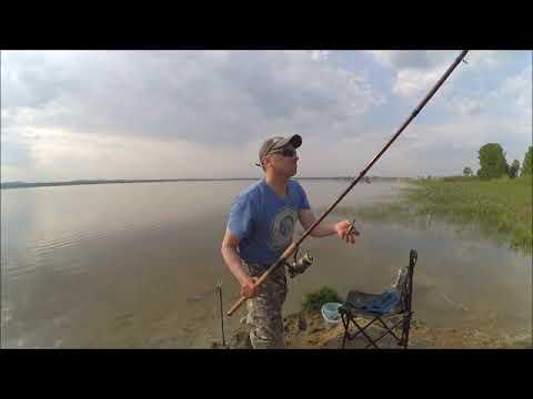 рыбалка на озере багаряк 2016