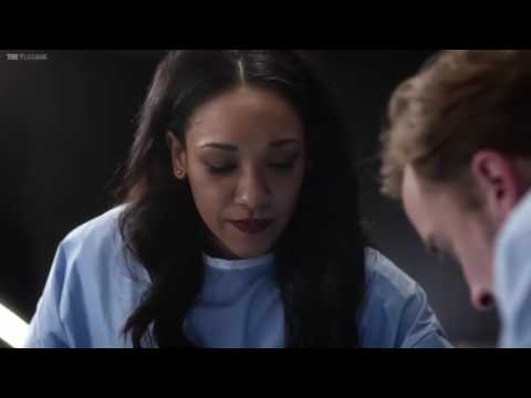 The Flash 3x18 iris  Julian Albert Saves Caitlin