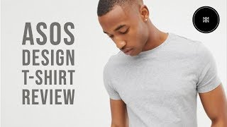 ASOS Design T-shirt Review