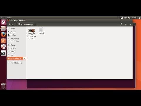 Share Folder On VirtualBox, Between Host Windows 10 And Guest Ubuntu 17.04