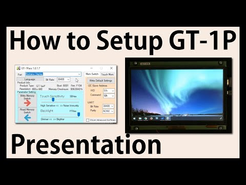 Noritake Presentation | How to Set-up GT-1P