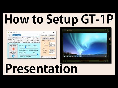 Noritake Presentation | How to Set-up GT-1P