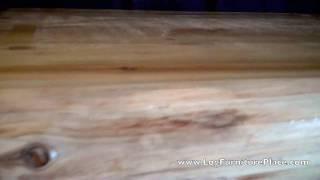Cedar Lake Log Executive Desk | Log Desk At Jhe's Log Furniture Place