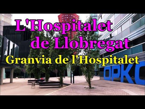 Download [[SPAIN-L'HOSPITALET DE LLOBREGAT]] Walking along Granvia de l'Hospitalet avenue 01/SEP/2020 7:00 pm