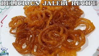 Instant Cryspy Jalebi Recipe | हलवाई वाली जलेबी की रेसिपी | कुरकुरी जलेबी  रेसिपी | SHEEBA CHEF
