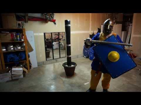 SCA Training Sword and Shield V Glaive | FunnyCat TV