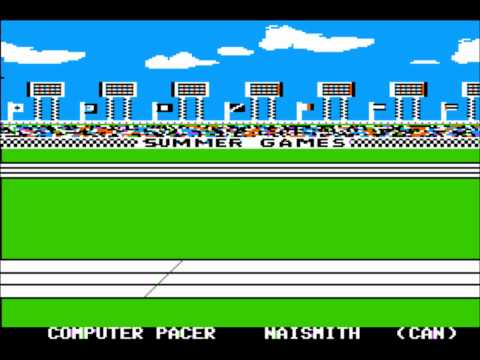 Summer Games for the Apple II