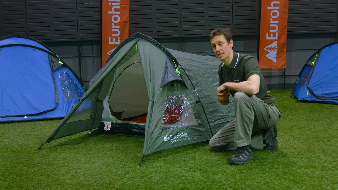 The Eurohike Backpacker DLX 2 Man Tent  sc 1 st  YouTube & The Eurohike Backpacker DLX 2 Man Tent - YouTube