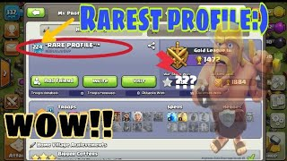 Rare profile in coc||New amazing player in clash of clans||unique player in clash of clans