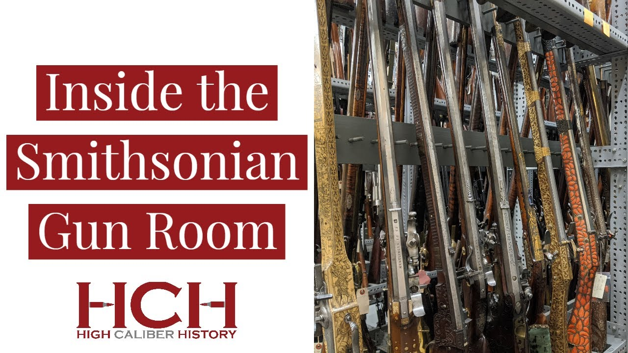Inside the Smithsonian Gun Room