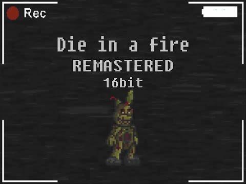 FNAF 16Bit Cover - Die in a fire TLT