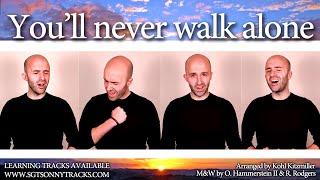 Download You'll never walk alone (Carousel) - A cappella Quartet (TTBB)