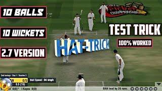 Wcc 2 Bowling Trick Test Match  Wcc2 2.7.4 Bowling Tips   Test Cricket
