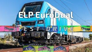 Riding the new Stadler EuroDual for ELP - Railcolor News Special