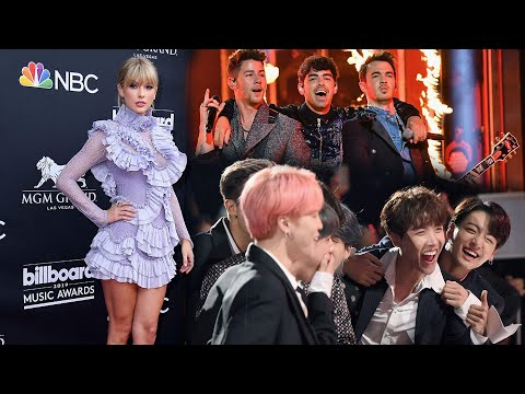 2019 Billboard  Awards: Taylor Swift BTS the Jonas Brothers and More